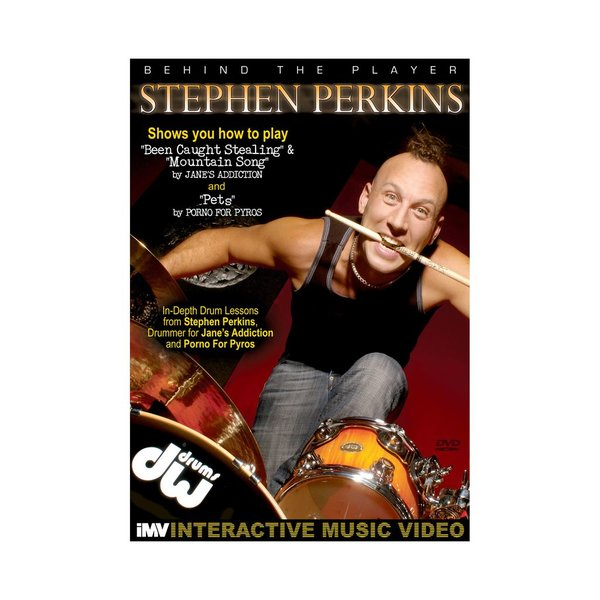 Hal Leonard Stephen Perkins: Behind The Player DVD