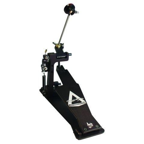 Axis George Kollias Signature Edition Single Bass Drum Pedal w/ Electronic Kit and Microtune; Black