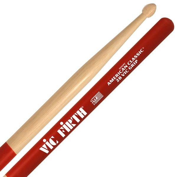 Vic Firth Vic Firth American Classic - 2B Drumstickswith Vic Grip