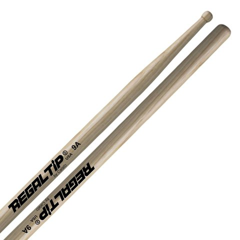 Regal Tip Classic Hickory Wood Tip 9A Drumsticks