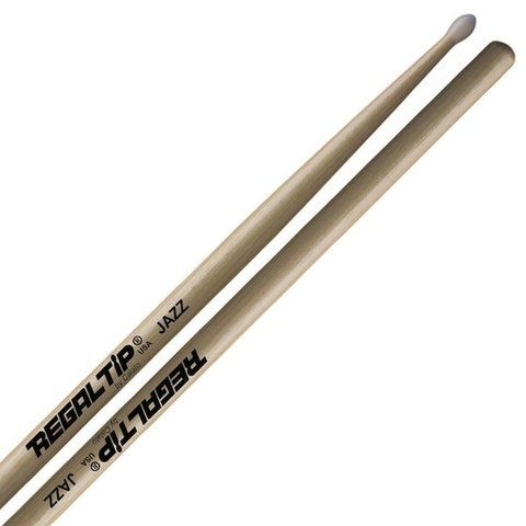 Regal Tip Classic Hickory Nylon Tip Jazz Drumsticks