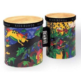 Remo Remo Kids Percussion 5/6 Diameters Bongos - Rain Forest Fabric