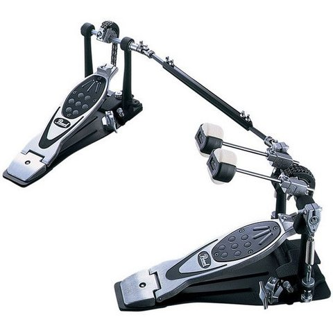 Pearl PowerShifter Eliminator Series Double-Chain Drive Double Bass Drum Pedal