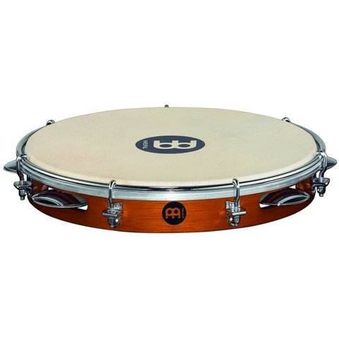 Meinl Wood Pandeiro 10 Goat Skin Head Chest Nut