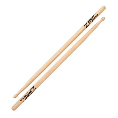 Zildjian 5A Super Wood Natural Drumsticks