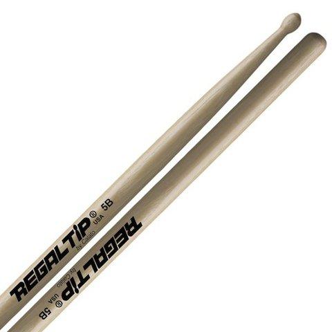 Regal Tip Classic Hickory Wood Tip 5B Drumsticks