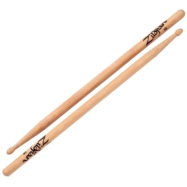 Zildjian Zildjian 5B Wood Natural Drumsticks