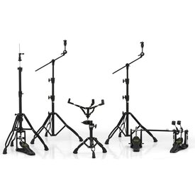 Mapex Mapex Armory Hardware Pack - Black Plated with P800TW Double Pedal