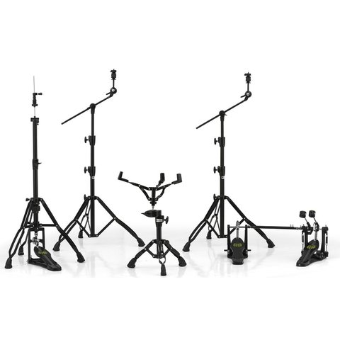 Mapex Armory Hardware Pack - Black Plated with P800TW Double Pedal