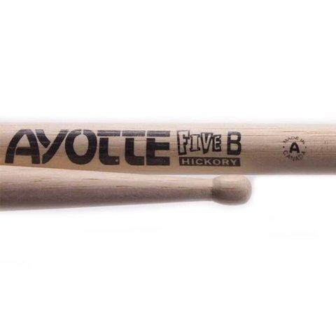 Ayotte Five B Hickory Wood Tip drumsticks