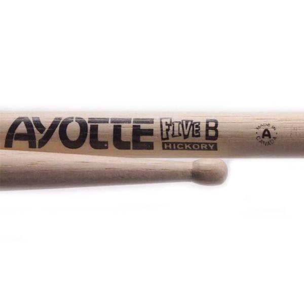 Ayotte Ayotte Five B Hickory Wood Tip drumsticks