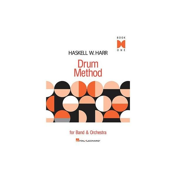 Hal Leonard Haskell W. Harr Drum Method; Book