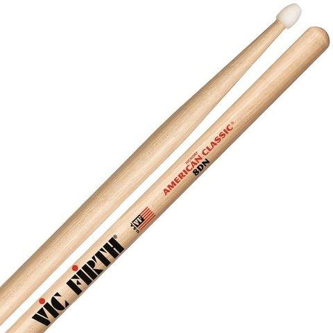 Vic Firth American Classic® Jazz 8DN -- nylon tip
