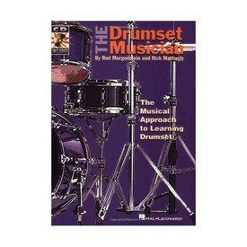 Hal Leonard The Drumset Musician by Rod Morgenstein and Rick Mattingly; Book & CD