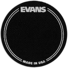 Evans Evans Black Nylon Bass Drum Patch Single Pedal (2 Pack)