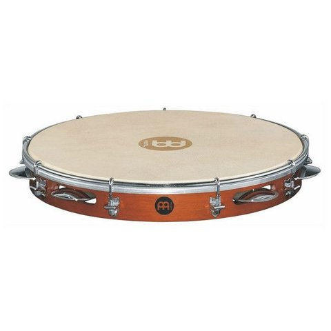 Meinl Wood Pandeiro 12 Goat Skin Head Chest Nut