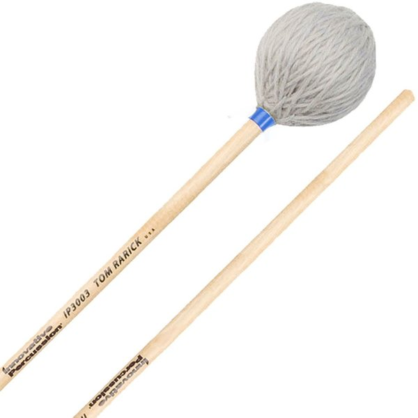 Innovative Percussion Innovative Percussion Medium Hard Marimba Mallets - Pewter Yarn - Birch