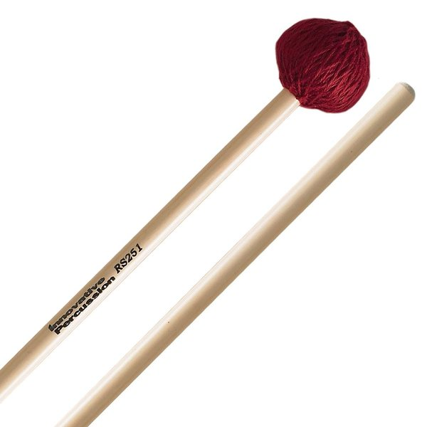 Innovative Percussion Innovative Percussion Medium Vibraphone / Marimba Mallets - Wine Cord - Rattan