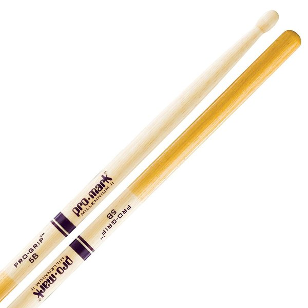 Promark Hickory 5B Pro-Grip Drumsticks