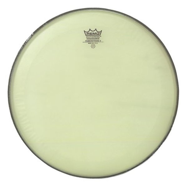 "Remo Remo Renaissance Powerstroke 3 - 18"" Diameter Bass Drumhead"