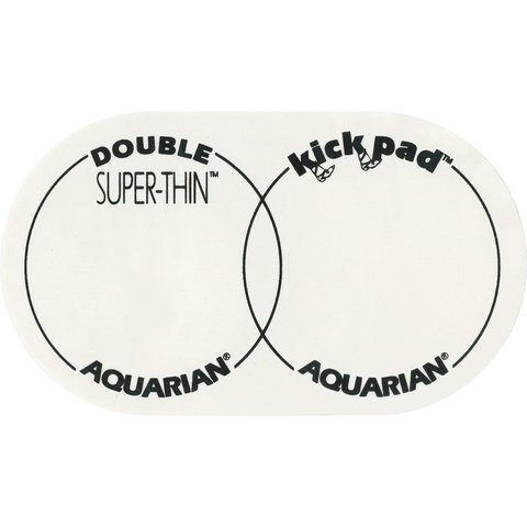 Aquarian Super-Thin Double Kick Pad