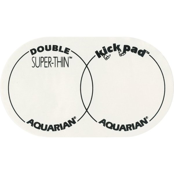 Aquarian Aquarian Super-Thin Double Kick Pad