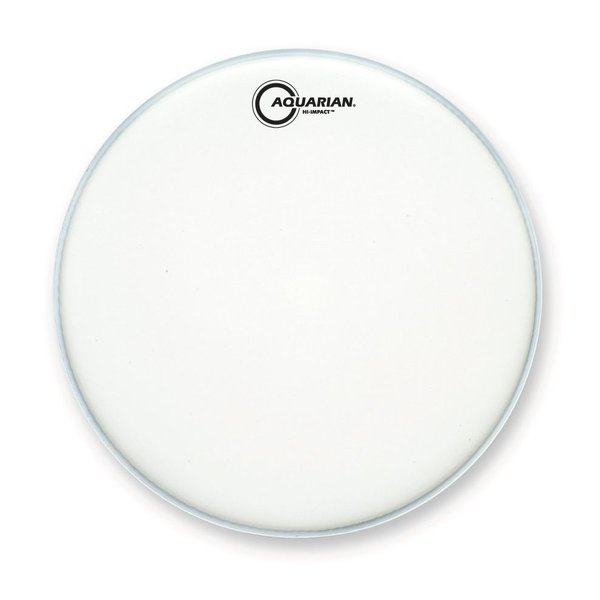 """Aquarian Aquarian Hi-Impact Series 13"""" Snare Drumhead - White"""