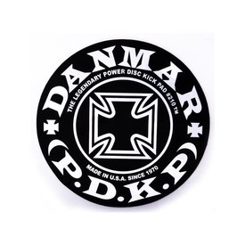 Danmar Danmar Bass Drum Impact Pad - Iron Cross Graphic