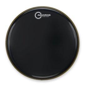 """Aquarian Aquarian Classic Clear Series 24"""" Drumhead - Black"""