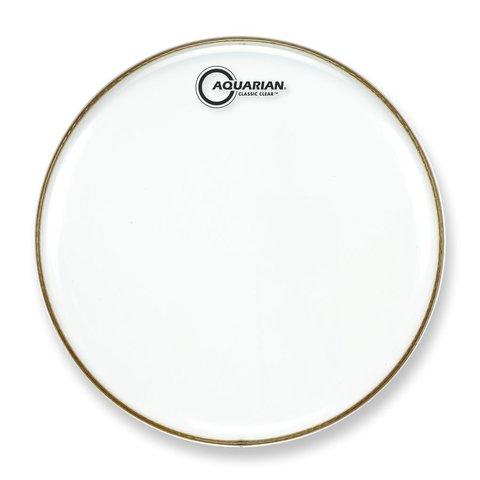 """Aquarian Classic Clear Series 16"""" Bass Drumhead"""
