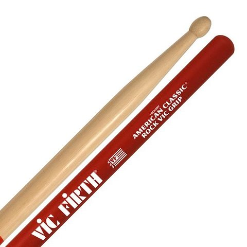 Vic Firth American Classic - Rock Drumsticks with Vic Grip