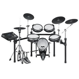 Roland Roland V-Pro Series  w/ one TD-30, one KD-120BK, one PD-125BK, three PDX-100, one VH-11, one CY-12C, one CY-13R, one CY-15R, one MDS-12V, four pad mounts, three cymbal arms w/clamps, one module mount & cable set