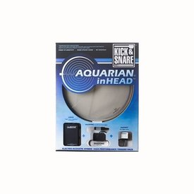 "Aquarian Aquarian inHead Series 14"" Kick and Snare Electro/Acoustic Drumhead Pack"