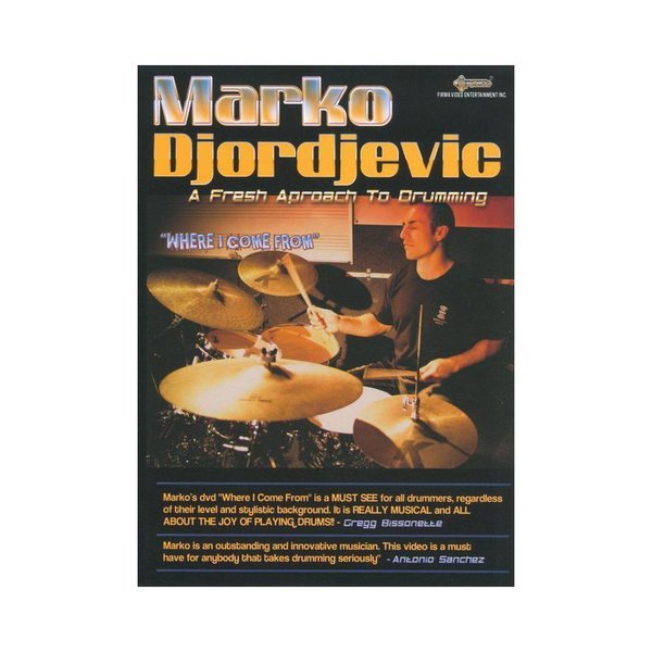 Alfred Publishing Marko Djordjevic: Where I Come From DVD
