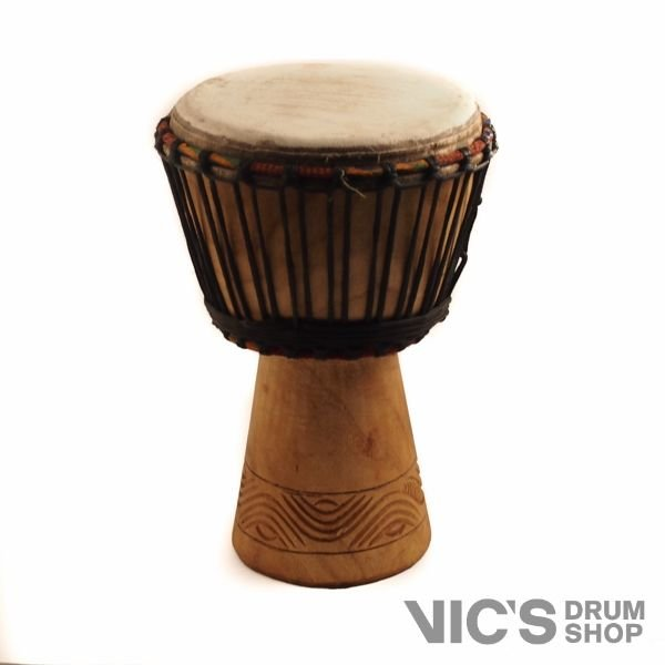 Unity Drums Unity Drums Mini Djembe Hand Carved from Ivory Coast