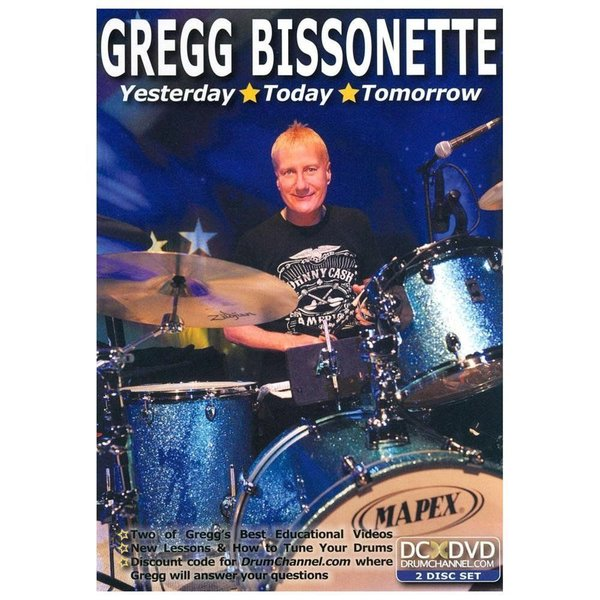 Alfred Publishing Gregg Bissonette: Yesterday Today Tomorrow DVD