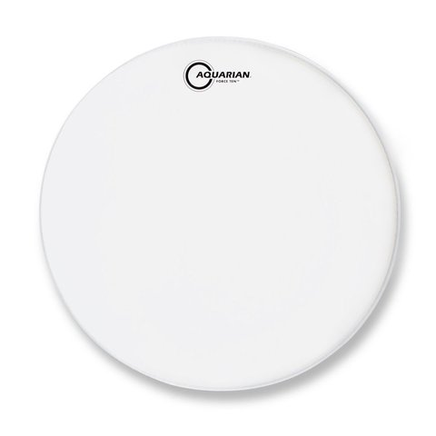 "Aquarian Force Ten Texture Coated 10"" Drumhead"