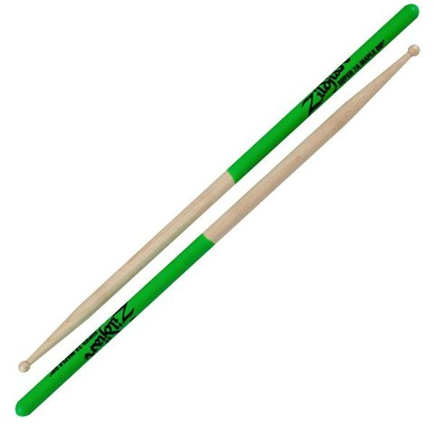 Zildjian 7A Dip Series Super Maple Green Drumsticks