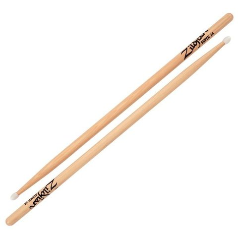 Zildjian 7A Super Nylon Natural Drumsticks