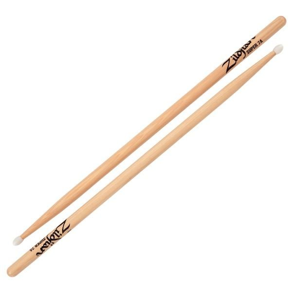 Zildjian Zildjian 7A Super Nylon Natural Drumsticks