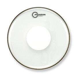 "Aquarian Aquarian Response 2 Series 16"" (2-Ply) Drumhead with Power Dot - No Glue"