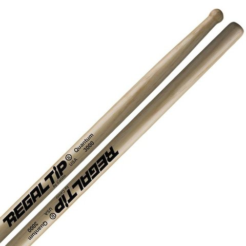 Regal Tip Classic Hickory Wood Tip Quantum 3000 Drumsticks