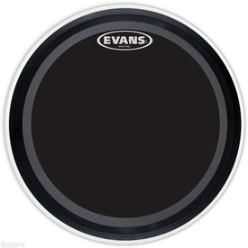 """Evans Evans EMAD Onyx 26"""" Batter Bass Drumhead"""