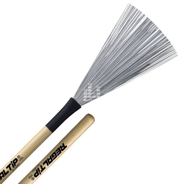 Regal Tip Regal Tip Extra-Large Hickory Handle Wire Brush