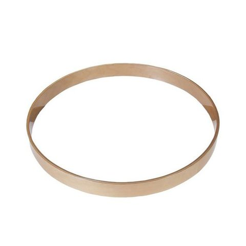 Gibraltar 18 Maple Bass Drum Hoop Natural