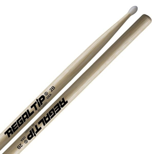 Regal Tip Regal Tip Classic Hickory Nylon Tip 2B Drumsticks