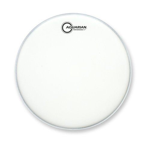 "Aquarian Performance II Series Texture Coated 8"" (2-Ply) Drumhead"