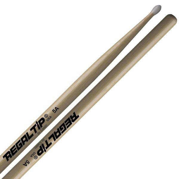 Regal Tip Regal Tip Classic Hickory Nylon Tip 5A Drumsticks