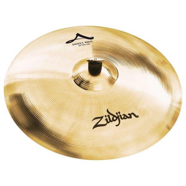 """Zildjian Zildjian 21"""" A  Sweet Ride Brilliant"""