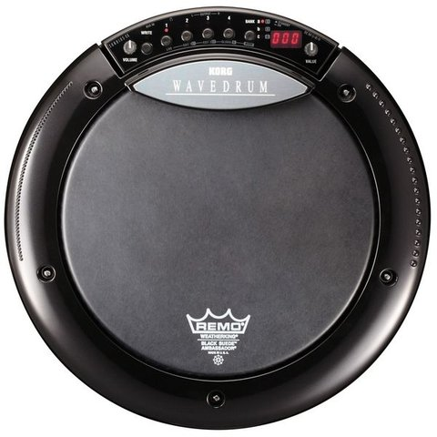 Korg Limited Edition Black Wavedrum with Remo Black Snare Head